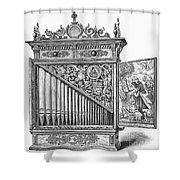 Organ Positive Shower Curtain