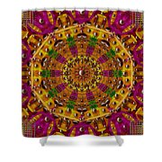 Orient Sun In Fantasy Style Shower Curtain