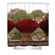 Oriental Hue Shower Curtain