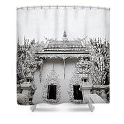 Ornate Architecture Shower Curtain