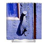 Ornate Door Handle Shower Curtain
