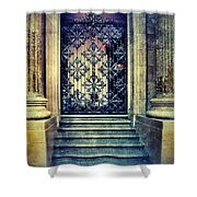 Ornate Entrance Gate Shower Curtain