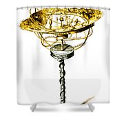 Orrery Illustration Shower Curtain by Science Source