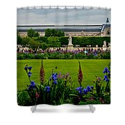 Orsay From The Tuileries Shower Curtain