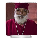 Orthodox Priest Of Addis Ababa Shower Curtain
