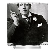 Oscar Wilde, Irish Author Shower Curtain by Photo Researchers