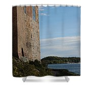 Oslo Castle And Harbor Shower Curtain