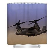 Osprey In Flight I Shower Curtain
