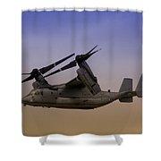 Osprey In Flight II Shower Curtain