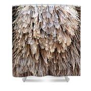 Ostrich Fluff Shower Curtain