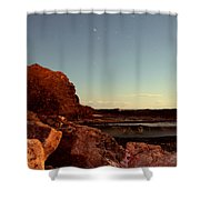 Other World This World Shower Curtain