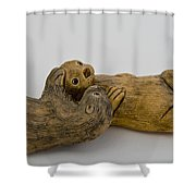 Otter Love This Shower Curtain