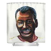 Oumar Souleymane Cisse Shower Curtain
