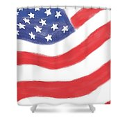 Our Flag Shower Curtain