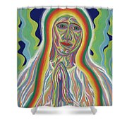 Our Lady Of Fatima 2012 - Detail B Shower Curtain
