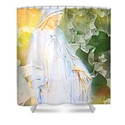 Our Lady Of Nature Shower Curtain