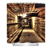 Our Lady Queen Of Angels Tunnels Detroit Mi Shower Curtain