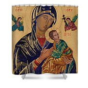 Our Mother Of Perpetual Help Shower Curtain