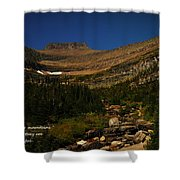 Our Mountains Shower Curtain