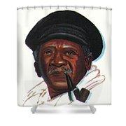 Ousmane Sembene Shower Curtain