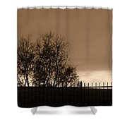 Out Of Reach Shower Curtain