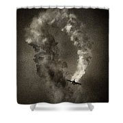 Out Of The Loop Shower Curtain