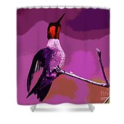 Out On A Limb - Pink Shower Curtain