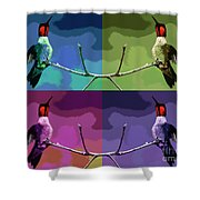 Out On A Limb - Serigraph Shower Curtain