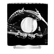 Out To The Ball Park Shower Curtain