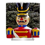 Outdoor Toy Soldier Shower Curtain