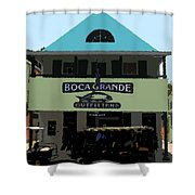 Outfitters Boca Grande Style Shower Curtain