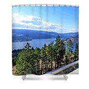 Vista 17 Shower Curtain