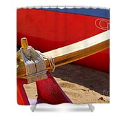 Outrigger Rigging - 2 Shower Curtain