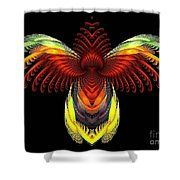 Outstreched Wings Shower Curtain