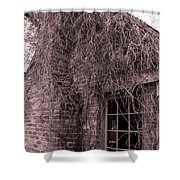 Over Grown Shower Curtain