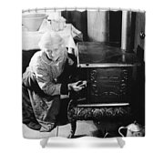 Over The Hill, 1920 Shower Curtain