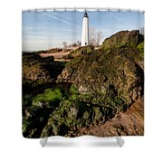 Over The Jetty Shower Curtain
