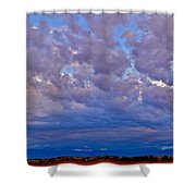 Over The Palisades Range Shower Curtain