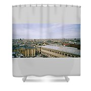 Looking Over Paris Shower Curtain