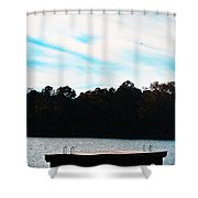 Over Water Shower Curtain