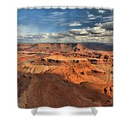 Overlooking Dead Horse Point Shower Curtain