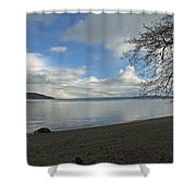 Owen Beach Shower Curtain