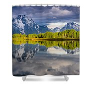 Oxbow Light Shower Curtain