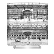 Oxford: Bodleian Library Shower Curtain