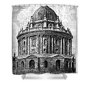 Oxford: Radcliffe Library Shower Curtain