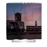 Oxo Tower And Royal Family Shower Curtain