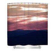 Ozark Dusk Shower Curtain