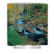 Ozone Falls And Rapids Shower Curtain