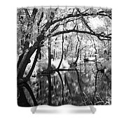 Pa. Country Stream Shower Curtain