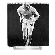 Paavo Nurmi (1897-1973) Shower Curtain